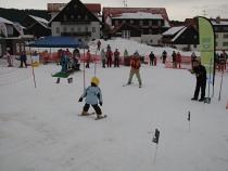 Lyžařská škola přímo po Chatou Kvilda